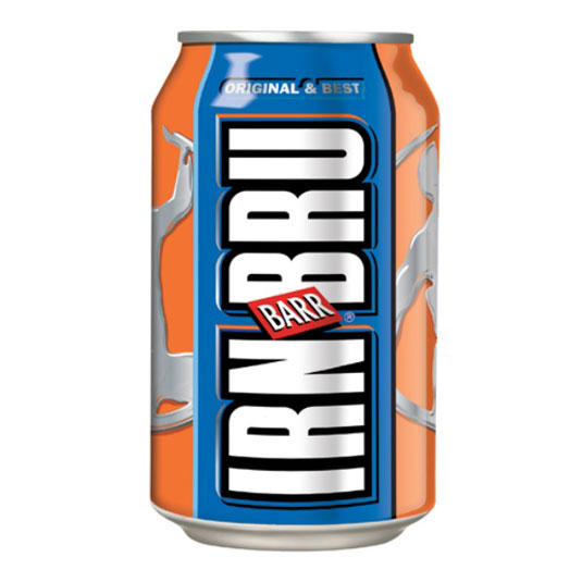 Scotland's other national drink. Made from girders!