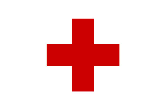 The Red Cross: universally associated with medicine and saving lives