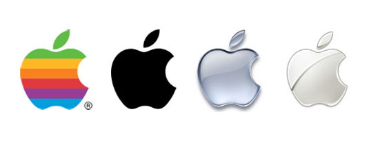 "Apple's iconic logo is instantly recognisable without the name. ""It embodies all the company's principles,"" says Benson"